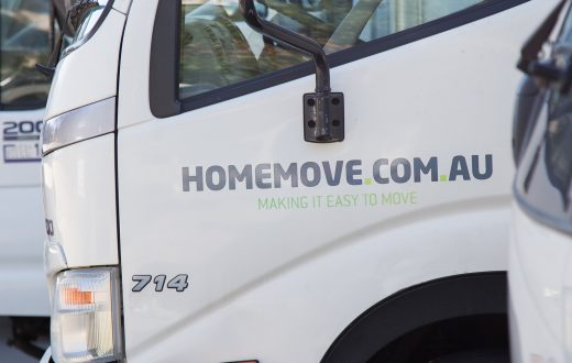 image showing melbourne removalist vehicles at homemove