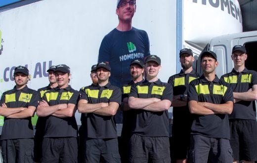 image showing melbourne removalist team