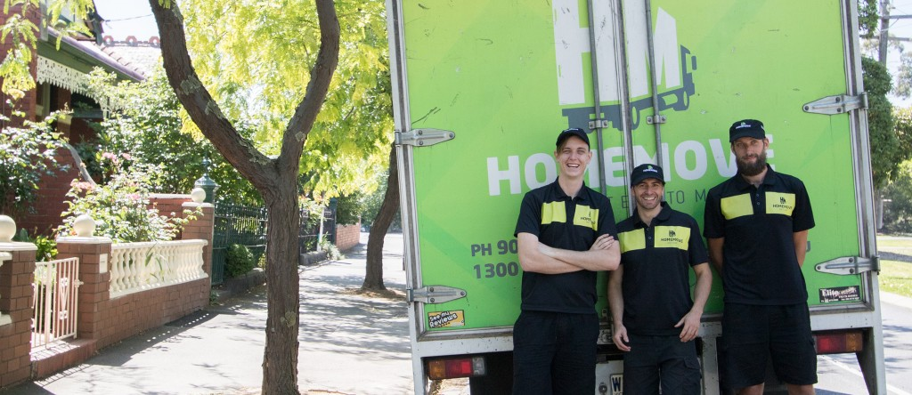 Thornbury removalists with a loaded moving truck
