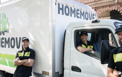 image showing the homemove melbourne removalist team