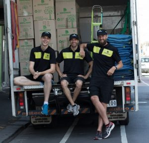 Carlton Removalists on Back of Truck